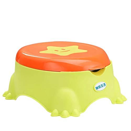 Siège de toilette pour enfant siège de toilette siège de bébé anneau coussin de siège de toilette pour enfant (Couleur : Green)