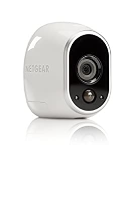 Arlo - Wireless Home Security Camera System   Night vision, Indoor/Outdoor, HD Video, Wall Mount   Includes Cloud Storage & Required Base Station   1-Camera System (VMS3130)