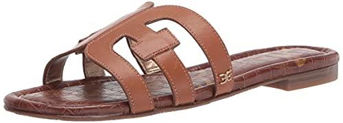 Sam Edelman Women's Bay Classic Slide Sandal, Saddle Leather, 7.5 Medium US