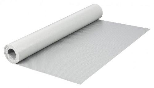 haggiy Schubladeneinlage - Küchenschrankeinlage 200 x 48 cm, rutschfest und elastisch (Grau)