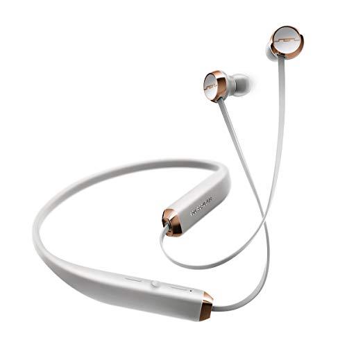 SOL Republic Shadow kabellose Kopfhörer, bluetooth Halsband, Eindringender Sound, Mikrofon, 10m Radius, 8Std Batterie, Schweiß- und Regenfest, ideal zum Sport, grau