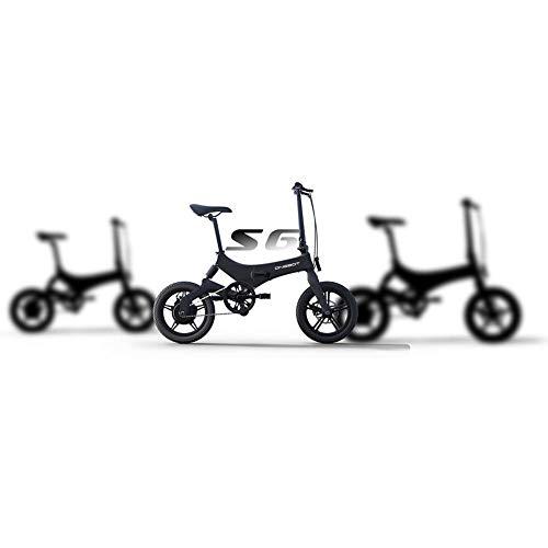 Ritapreaty Vélo Pliable ONEBOT S6, réglage 3 Vitesses, Cadre de vélo léger en Alliage de magnésium, Pneu antidérapant résistant à l'usure adapté aux Adultes