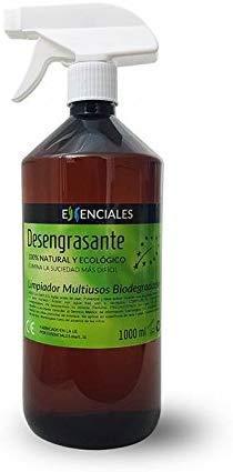 Essenciales - Desengrasante Natural, Ecológico y Biodegradable MULTIUSOS, 1 Litro | Certificación Ecológica ECOITEL: Instituto Técnico Español de Limpieza