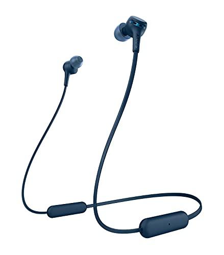 Sony Wi-Xb400 - Cuffie Wireless In-Ear con Extra Bass, Compatibile con Google Assistant E Siri, Batteria Fino a 15 Ore, Bluetooth, Blu