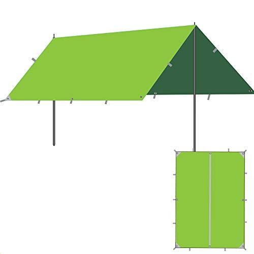 Roboraty Sun Sail Shade, toldo con Dosel para jardín al Aire Libre, Refugio para Eventos Gazebo, Refugio Solar portátil con protección Solar,5~8 People,A-3x3m(9.8x9.8ft)