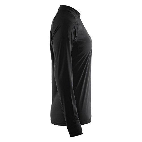 Craft 3 Run Prime T-Shirt Manches Longues Femme, Noir, FR : L (Taille Fabricant : 40: L)
