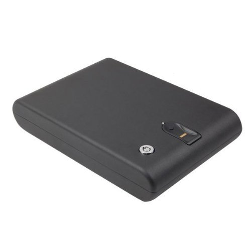 Hot Sale Compact Handgun Jewelry Biometric Fingerprint Digital Safe Box RFID