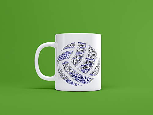 Kilmarnock FC Ceramic Ball Mug/Cup