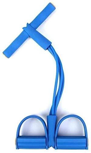 HYM Multi-functionele spankabel puller-weerstandsbanden latex pedaal exerciser voet trektouw yoga sport fitness afslanken gewichtslot uitrusting