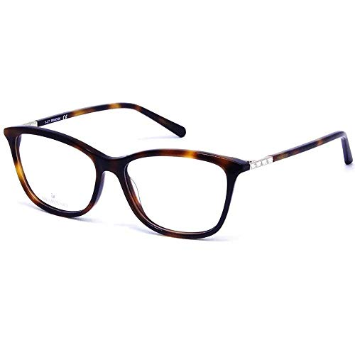 Swarovski Occhiali da vista donna 5223 053 havana squadrato eyeglasses cal.53