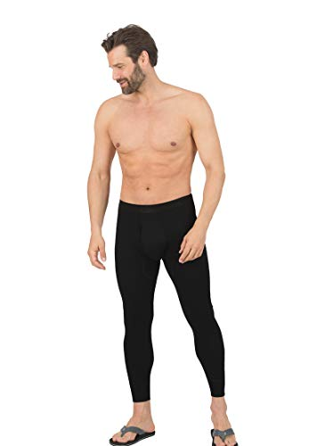 Trigema Herren 6852102 Thermounterwäsche-Unterteil, Schwarz (schwarz 008), XXX-Large (Herstellergröße: 10) (2er Pack)