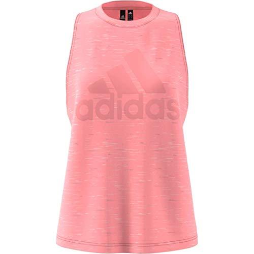 adidas Camiseta sin Mangas W Winners para Mujer, Mujer, Camisa, GLG06, Rosado, XXS
