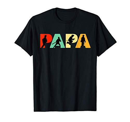 Hombre Divertido Papá Bombero Regalo del día del padre para papá Camiseta