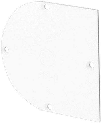 f-tronic Deckel halbrund für Hohlwand-Gerätedose massiv, HWD1, Inhalt: 50, Stück