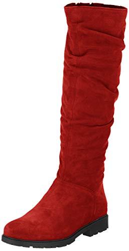 Tamaris Damen 1-1-26546-23 Hohe Stiefel, Rot (Sangria 536), 39 EU