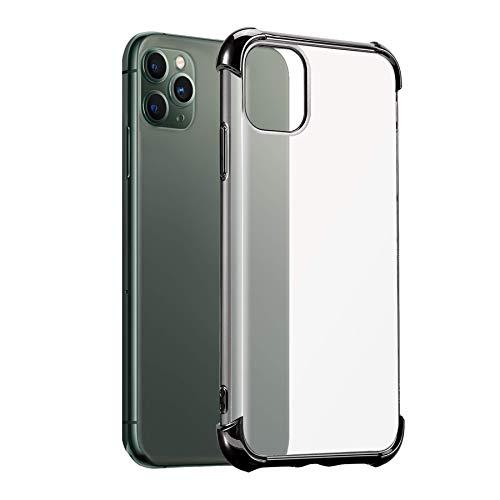 mtb more energy Funda Elegance Protection para Xiaomi Redmi 9 (6.53'') - Negro - Esquinas reforzadas - TPU Carcasa Caja Cover Case