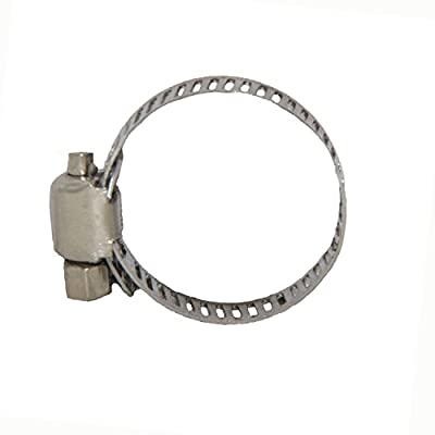 Joyway Stainless Steel Adjustable Drive Hose Clampswith Stainless Clamp House/Boat / Lawn/Power Wash/Irrigation