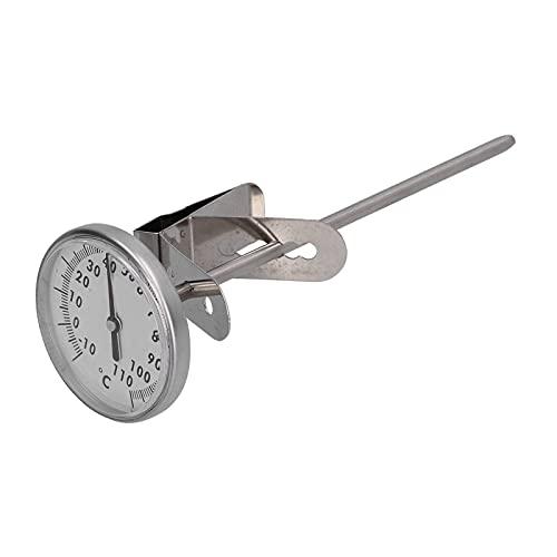 AOER Termómetro de Leche, termómetro Desmontable de Alimentos con dial Grande para Restaurante de Cocina