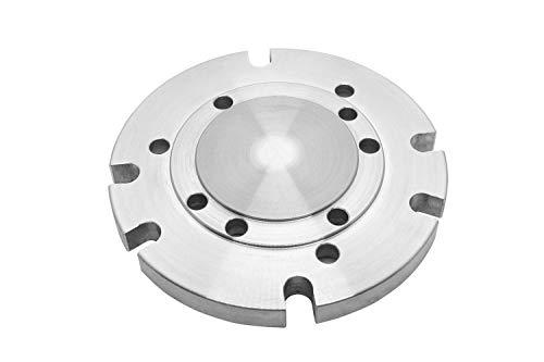 PAULIMOT Montageflansch für Drehfutter Ø 100 mm / 125 mm zu Teilapparat