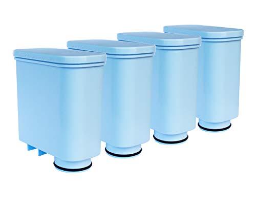 Pack de 4 filtros de agua compatibles con cafeteras automáticas Philips Saeco AquaClean CA6903 | 00, 01, 10, 22 | GranBaristo, Incanto, Intelia Deluxe, PicoBaristo, Exprelia, Xelsis