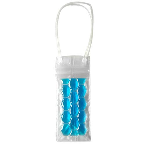 Wijnfles Freezer Bag Chilling Cooler Ice Bag Beer verkoelende gel Holder Carrier Pouch Emmers Holder