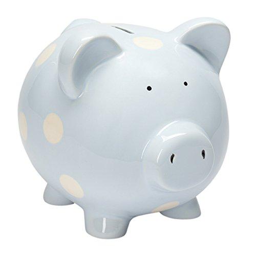 Elegant Baby Classic Piggy Bank Blue