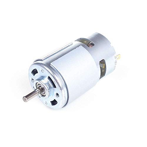 ANGEEK 775 Motore DC 12V-36V 3500-9000 RPM Ball Bearing Large Torque High Power Low Noise Electronic Component Motor