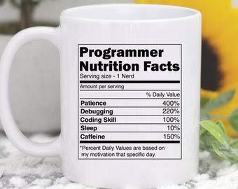 Computer-Tasse, Programmier-Tasse, Programmier-Tasse, Informatik-Geschenk, Programmier-Geschenk, Computer-Codierung, Coder-Geschenk, Computer-Geschenk