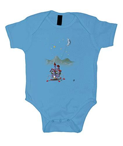 tostadora - Kinderkleidung das Fahrende Haus - Baby Hellblau L