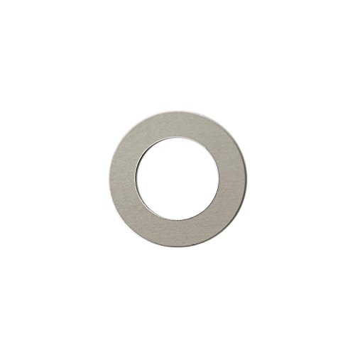 RMP Stamping Blanks, 1-1/4 Inch Round Washer with 3/4 Inch Center, Aluminum 0.063 Inch (14 Ga.) - 50 Pack