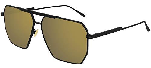 Bottega Veneta Gafas de Sol BV1012S BLACK/GOLD 60/13/145 hombre