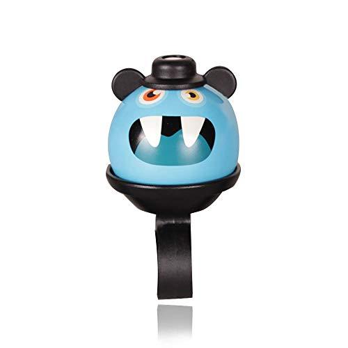 Timbre de bicicleta para niños, ajustable, con diseño de dibujos animados, para niñas, niños y adultos, timbre de bicicleta con sonido claro para niños, accesorios de bicicleta para niños