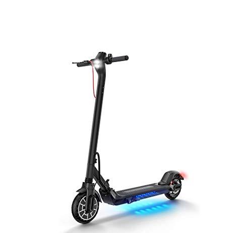 N\A ZGGYAElektro-Scooter Erwachsener, Faltbarer elektrischer Roller APP-Steuerung, ES2, 350W Motor 3 Speed-Modus, 8,5-Zoll-Honeycomb Reifen mit Notlaufeigenschaften, 25 Kilometer Lange Strecke