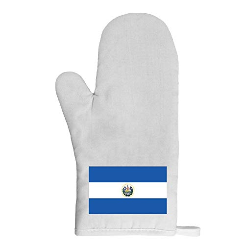 Mygoodprice Ofenhandschuh Topflappen Flagge El Salvador