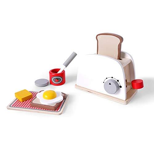 #N/V Juego de niños de la casa de juguete de cocina de madera para niña simulación vajilla de cocina arroz niño bebé regalo de cumpleaños
