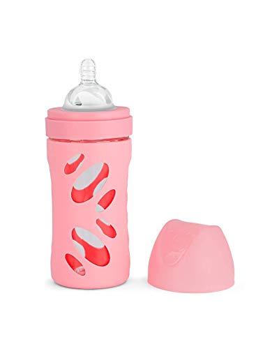 Twistshake - Biberones, Unisex, color Rosa, 160 g