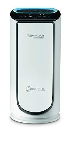 Rowenta PU6080 Intense Pure Air Connect Luftreiniger | steuerbar über App | Auto-Modus | Timer-Funktion | Smart Control | 4 Filterstufen | NanoCaptur-Technologie | Weiß/Grau