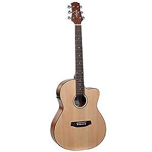 Ashton D10CEQ 39-inch Cutaway Electro Acoustic Guitar with EQ 2