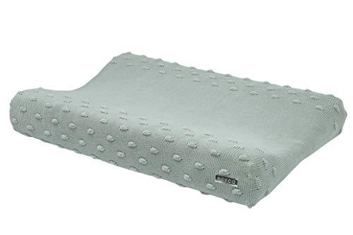 Meyco KNOTS 2763053a - Funda para cambiador de pañales (100% algodón, 45 x 70 cm), color verde
