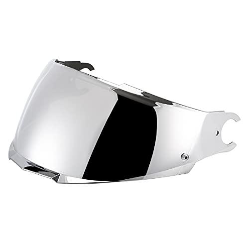 VCOROS Visier Für LS2 Motorradhelm FF902 SCOPE (Chrome Silver)