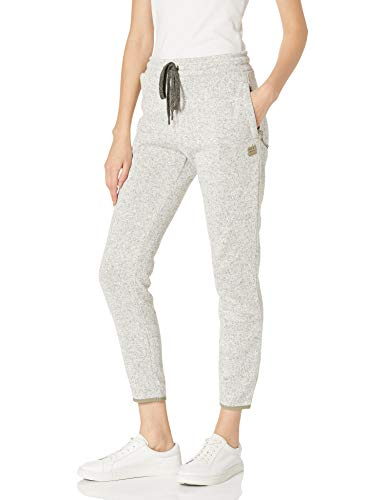 Billabong Damen Roam Free Sweatpant Jogginghose, Grey Heather, Groß