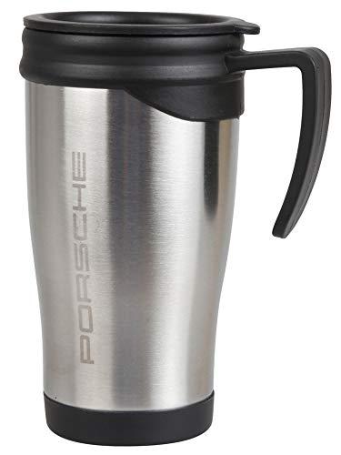 Porsche Edelstahl Thermo Becher Kaffeebecher Kaffee Cup Tasse