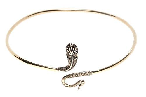 Windalf Bohemian Oberarmreif Medusa Ø 9.3 cm Schlange-Schmuck Ober-Armreif Hochwertige Bronze