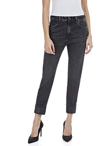 Replay Damen Marty Jeans, 097 Dark Grey, 2830