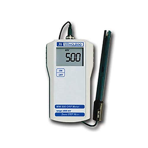 Milwaukee MW500 LED Economy Portable ORP Meter with Platinum Electrode, +/-1000mV, 1mV Resolution, +/-5mV Accuracy