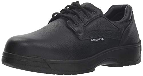 Florsheim Work Men's Work Fiesta FS2416 Work Shoe, Black, 14 3E US