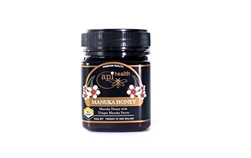 Miel de Manuka Api salud UMF 10+ MGO 300+ 250g, Miel de calidad UMF Premium certificada, importada de Nueva Zelanda