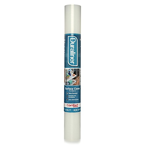 """Con-Tact Duraliner Non-Adhesive Surface Cover Shelf and Drawer Liner, 24"""" x 10"""