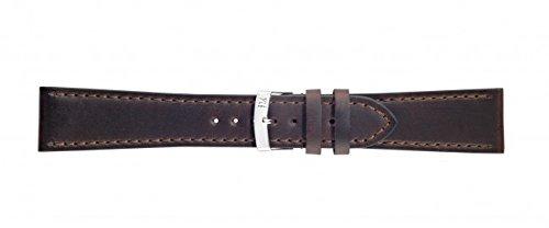 Morellato Lederarmband für Uhren braunSportage Ansatzbreite 22 mm