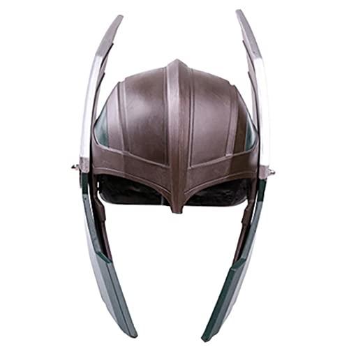 Vssictor Mscara de Halloween para disfraz de cosplay y casco de pelcula para adultos, accesorio de disfraz de Halloween, disfraz de pelcula para disfraz de disfraces para hombres y mujeres